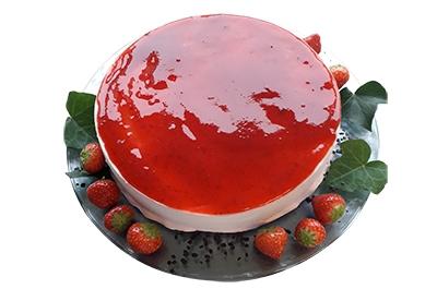 Aardbeien Roomijstaart