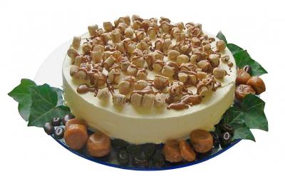 Caramel Cookie Dough IJstaart